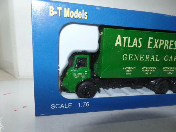 B T Models DA-39 DA39 1/76 OO Scale Albion Reiver Box Van Atlas Express Carriers